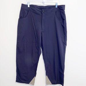 Ibex Nylon gray athletic outdoor hiking pants XL